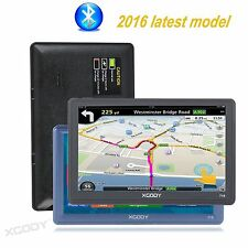 "XGODY 7""HD Touch Screen 8GB MP3 Play Car GPS Navigation WIth Bluetooth AV-IN"