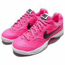 Wmns Nike Court Lite Pink Black Womens Tennis Shoes Sneakers Trainers 845048-600