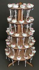 Y43B 60x Lollypop Candy Sweet Stand Cart Table Decoration Centrepiece Wedding