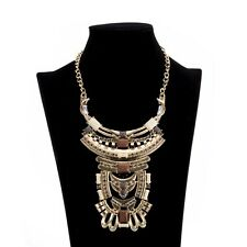 New Charm Choker Chunky Women Gold Silver Plated Alloy Necklace Pendant Jewelry