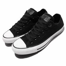 Converse Chuck Taylor All Star Black White Canvas Mens Casual Shoes 554094C