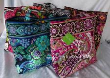 NWT Vera Bradley Tote with Tortoise Toggle in Pattern of your Choice w/Free Ship