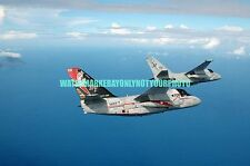 USN S-3B Viking Aircraft  Color Photo Military  Carrier Air Wing Five  CVW-5