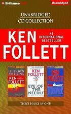 Ken Follett Unabridged CD Collection : Lie down with Lions, Eye of the...