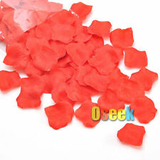 New Red Silk Rose Petals Confetti Artificial Flower Wedding Party Decoration