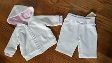 NEW Ralph Lauren girls soft jacket pant set outfit size 3 Months