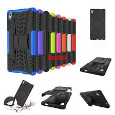 For Sony Xperia XA Ultra Dual 2in1 3D Shock Skip Proof Grenade Grip Rugged Case