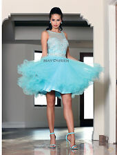 Short Homecoming Sleeveless Formal Prom Dress Cocktail Party