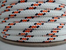"3/8"" x 150 ft. Double Braid~Yacht Braid polyester rope.Sailboat Line. US"