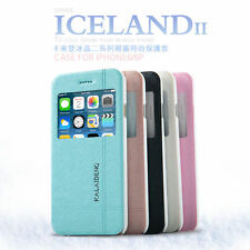 KALAIDENG ICELAND Series PU Leather Flip Case Cover Holder for iPhone 6 Plus