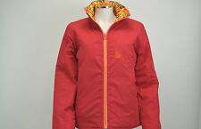 LADIES UMBRO RED/GREY PADDED FULL ZIP JACKET SIZE 12 (BRAND NEW WITH TAGS)
