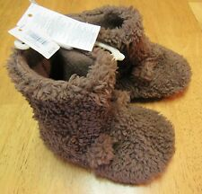 NWT Baby Gap Furry Bear Brown SLIPPERS Size Small or Medium or Large or XL $25
