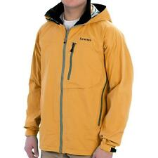 New Simms Acklins Gore-Tex Technical Hooded Shell Fishing Jacket Waterproof L/XL