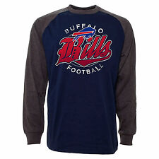 Buffalo Bills Rounder Raglan Long Sleeve Jersey T-Shirt