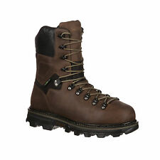 Rocky Mens Brown Leather Arktos WP Insulated 400G Work Boots
