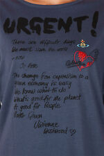 VIVIENNE WESTWOOD RED LABEL New Woman BLUE tee t-shirt Jersey cotton NWT