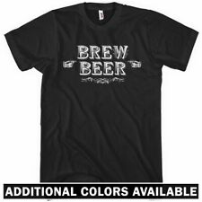 Brew Beer T-shirt - Men S-4X - Bartender Bar Brewery Ale Craft Micro Lager Bier