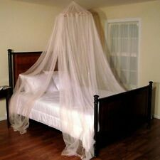 Casablanca Oasis Round Hoop Sheer Bed Canopy Net. Shipping is Free