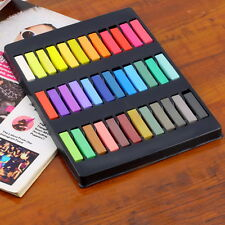 12/24/36 Colors Non-toxic Temporary Pastel Hair Square Hair Dye Color Chalk P5