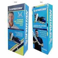 Spartan Michael Clarke Junior Cricket Combo Kit + Youth/Boys/S Boys + Free Ship