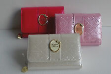 Hello Kitty Ribbon Wallet Purse Coin Case White Pink Red SANRIO JAPAN