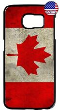 Canadian Flag CANADA New Case Cover For Galaxy S4 S5 S6 S7 Edge Note 4 5 7