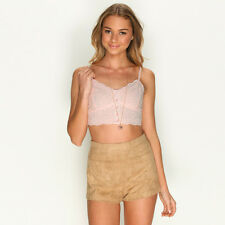New Mooloola Sage Crop Top in Pink   Womens Fashion Tops & Shirts
