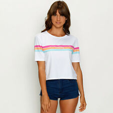 New VonZipper Spectrum T-Shirt in White | Womens Tees & Loose Tops