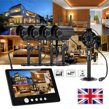 """7"""" 9"""" TFT LCD Wireless CCTV DVR Monitor Home Security CCTV Video System Camera"""