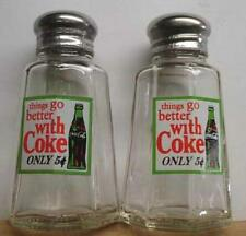 A Charming Coca Cola Salt and Pepper Shakers Things Go Better