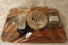 Gift set - serving board & olive oil dipping set - New - Dawn View Olive Oil