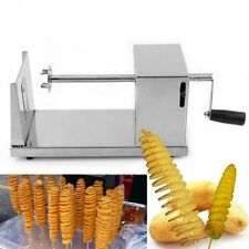 Manual Stainless Steel Twisted Potato Slicer French Fry Vegetable Cutter I6##