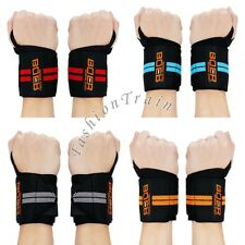 Wrist Support Wraps Straps Weight Lifting Exercise Fitness Training Gym Bandage