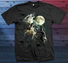 Wolves Howling at the Moon NEW T-Shirt Sizes /Colors Available S-M-L-XL!!!