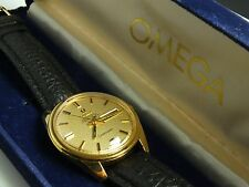 Vintage Automatic 1960s Omega Seamaster 166.032 168.023 Cal 751 Day Date Watch