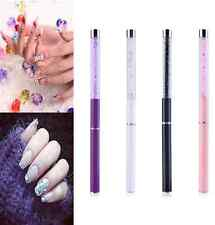 1pcs Crystal Nail Art UV Gel Acrylic Pen Brush Painting Drawing Polish Manicure