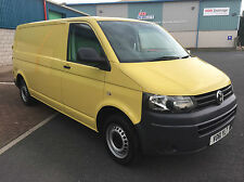 VW TRANSPORTER T5 T30 2.0 TDI 102 LWB SUNNY YELLOW  ***NO VAT***