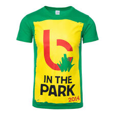 Official T Shirt BIFFY CLYRO Green B IN THE PARK Festival Band Tee All Sizes