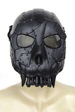 LARGE CLEAR AIRSOFT FULL FACE MASK PROTECT SAFETY MASK GOGGLES PAINTBALL BB MASK