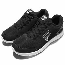 Fila J907Q Black White Mens Running Shoes Sneakers Trainers 1-J907Q-001