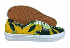 VANS. Authentic. Della. Batik. Yellow / Green. Unisex Shoe. Mens US Size 8.0