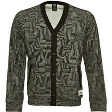 Crooks & Castles The Razzle Dazzle Cardigan in Charcoal Speckle