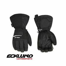 NEW SKI-DOO MENS THUNDER GLOVES BLACK  - NON CURRENT 446224__90