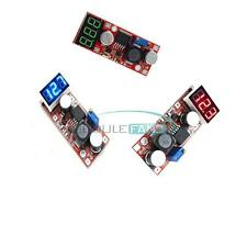 DC Adjustable Buck Step Down Converter lm2596 Voltage Regulator with Voltmeter M