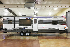 New 2015 30RKSS Rear Kitchen Travel Trailer Camper with Slide Out Never Used RV