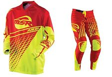 New MSR Racing Pant Jersey combo motocross off road riding gear set Red Yellow