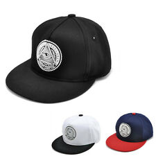 Men's Fashion bboy Hip Hop adjustable Sports Baseball Snapback Hat cap outdoor