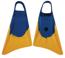 NEW Stealth S1 Fins- Blue/Sun Gold