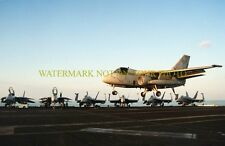 USN S-3B Viking Color Photo Navy Military Carrier VS-32 CVN 71 Aircraft 2001