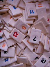 RUMMIKUB GAME TILES ***YOU CHOOSE*** MOTIF BACK, SPARE/REPLACEMENT  PARTS/CRAFTS